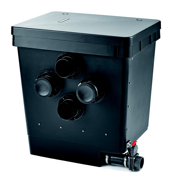 Oase proficlear premium individual module for Gravity fed koi pond design